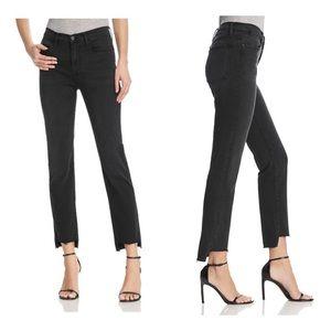 Frame Le High Straight Step Hem Jeans Mallard